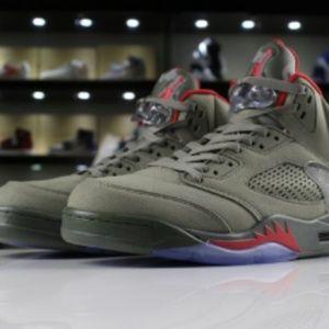 dd6b3411ee044 Shoes   Mens And Womens Air Jordan 5 Camo Dark Stucco Un   Poshmark